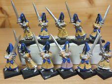 11 Classic Metal Warhammer elfos alto swordmasters de Hoeth parte Pintado (424)