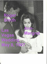 ANN MARGRET ROGER SMITH 5/8/67 WEDDING LAS VEGAS OLD KODAK 8x10 PRESS PHOTO #2