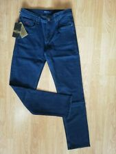 Dark Blue Zilli Men's Classic Jeans Made in France Size 36