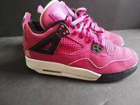 Youth Girl Nike Air Jordan IV 4 Retro GS VOLTAGE CHERRY 487724-601 Size 5Y