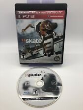 Skate 3 W/Replacement Case (Sony PlayStation 3, 2010) & Skate 1 Loose