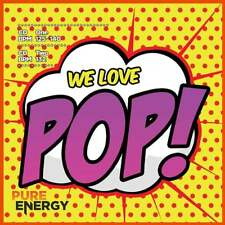 Pure Energy We Love Pop! Aerobics Fitness Music CD - Twin Disc Pack