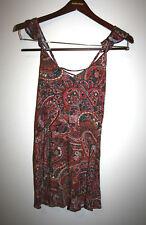 NEW AE AMERICAN EAGLE OUTFITTERS Boho Printed Sleeveless Sun Dress XXS