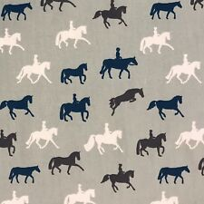 25cm Horse Fabric Dressage Pony Showjumping Riding Pale Green Cotton Craft Dress