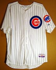 CHICAGO CUBS ALFONSO SORIANO MLB White #12 PINSTRIPE Size 52 Baseball JERSEY
