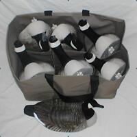 6 Pocket Custom Decoy Bag for Full Body Goose, Lesser, Speck