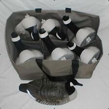6 Pocket Custom Decoy Bag for Goose & Oversize Floaters, Mesh Panel in Bottom