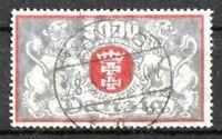 Danzig 122 sauber gestempelt Staatswappen 1923 Michel 80,00 € used