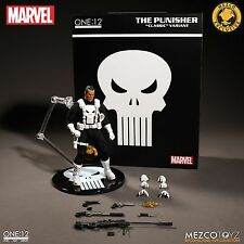 Mezco Toyz One:12 Collective Classic Punisher White Variant Exclusive Marvel