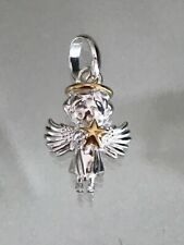 Genuine LINKS of London stg 925 silver & gold Angel charm *new*