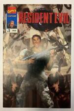 (1996) Marvel Comic Promotional Resident Evil #1 Bill Sienkiewicz Cover! RARE!