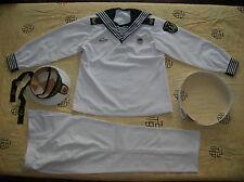 Obsolete 07's series China PLA Navy Seaman, First Class Uniform,White,Set