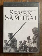 Seven Samurai - Criterion Collection #2 - Dvd Kurosawa