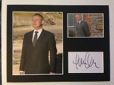 Martin Clunes Autograph DOC MARTIN Signed 12x16 Display AFTAL [B3797]