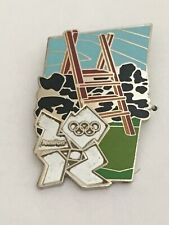 London 2012 Olympic Countryside Series Stile Pin Badge