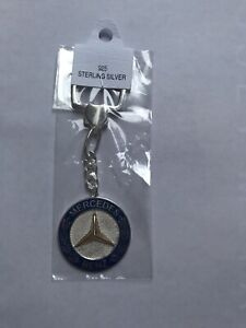 Mercedes-Benz Curb Keyring / Keychain (*All Sterling Silver 925)