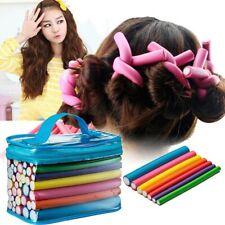 42Pcs Twist Flex Flexi Rods Foam Magic Hair Curlers Styling Hair Rollers Spiral