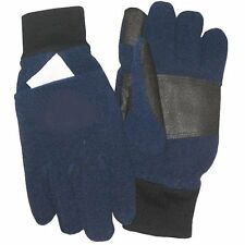 Techniche Int'l Navy Winter Gloves with Pockets & 2 Pair Heat Pax - Size Small