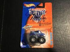Hot Wheels Monster Jam Motor Mini Blue Thunder Signed By Driver