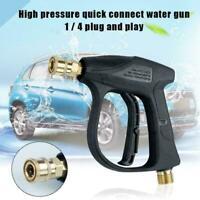 High Pressure Washer 3000 PSI Trigger Gun Quick Release Lance Spray Foam C2Z6