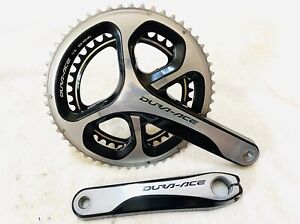 Shimano Duraace R9000 172.5 mm Crankset with 53/39T Chain rings - Nice