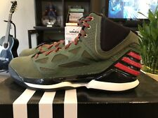 Derek Rose Adizero Rose 2.5 Adidas Size 13 New In Box - Lei Feng Honorary Shoe