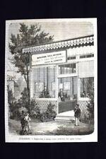 Impressione a stampa senza inchiostro, del signor Leboyer Incisione del 1870