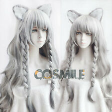 Arknights Supporter Pramanix Cosplay Hair Wig Ear Rhode Island Game Sa