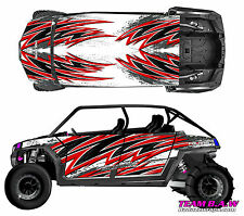Polaris 4 RZR 900 xp Design MXVEC 016 Decal Graphic Kits Wraps Hood Scoop