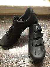 Trek Bontrager VELLA Womens Cycling Shoes - Size 11.5 US (43 EU) Black w/ Cleats