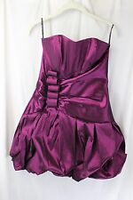 e51eee2a43f Jessica McClintock Size 10 Purple Bubble Dress Party Prom Cocktail Mini New   175