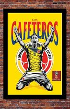 2018 World Cup Soccer Russia   TEAM COLOMBIA Poster   13 x 19 inches