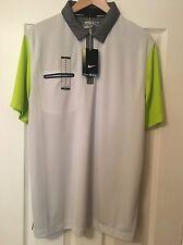 * Selten * Nike Lightweight Innovation Golf Polo Shirt Dri Fit 585820 048 NWT Rory M
