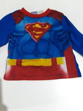 Superman pajama top toddler boys sz 4T