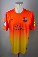 FC Barcelona Trikot Gr. L Nike Jersey LFP 2012/2013 Away FCB Qatar Foundation