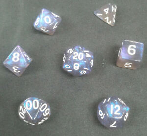MDG Stardust Galaxy Dice Set DnD RPG
