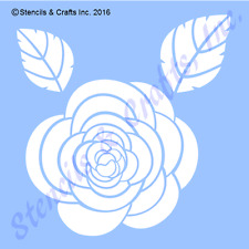 "4"" ROSE STENCIL LEAF LEAVES TEMPLATES STENCILS TEMPLATE PATTERN FLOWER CRAFT NEW"