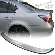 SHIP FROM LA! Painted 04-10 BMW E60 5-Series A Type Trunk Spoiler 354 silver