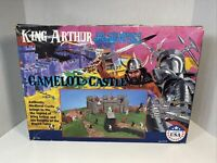NOS Vintage King Arthur Knights of the Round Table Camelot Castle Rare Playset