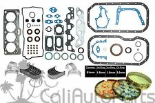 FITS: 88-93 Toyota Celica Corolla 1.6L 4AF 4AFE DOHC FULL SET RINGS AND BEARINGS