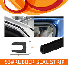400CM RUBBER SEAL STRIP DOOR WINDOWS EDGE ANTI-RUB TRIM WEATHERSTRIP U SHAPE 53#