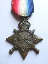 1914-15 STAR / P. CURRAN. P. O. ROYAL NAVY. / HMS IMPREGNABLE / WAR GRATUITY