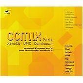 CCMIX Electroacoustic Works 2 CDs MODE Xenakis Pape Teruggi Risset Roads UPIC