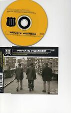 911 RARE CD PRIVATE NUMBER INC 3 POSTCARDS