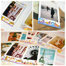 10X DIY Cute Polaroid Cartoon Animal Bird Stickers Creative Sticker Photo Decor