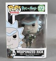 Funko POP Animation Rick And Morty #172 Weaponized Rick Vinyl Figure 79W