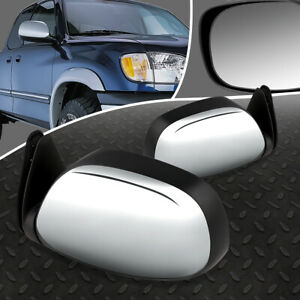 FOR 00-04 TOYOTA TUNDRA PAIR OE STYLE POWERED ADJUSTMENT SIDE VIEW DOOR MIRROR
