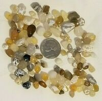 Lot #D10 - 100+ Small Translucent Gems Agates Stones Pacific Beach Ocean Natural
