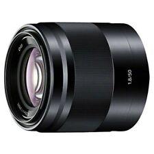 SONY Singolo Focus Obiettivo E 50mm F1.8 Oss Aps Formato SEL50F18-B