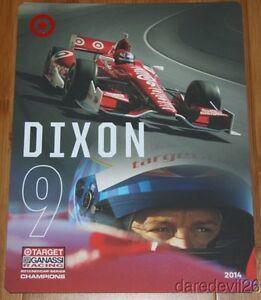 2014 Scott Dixon Target Chevy Dallara Indy Car postcard